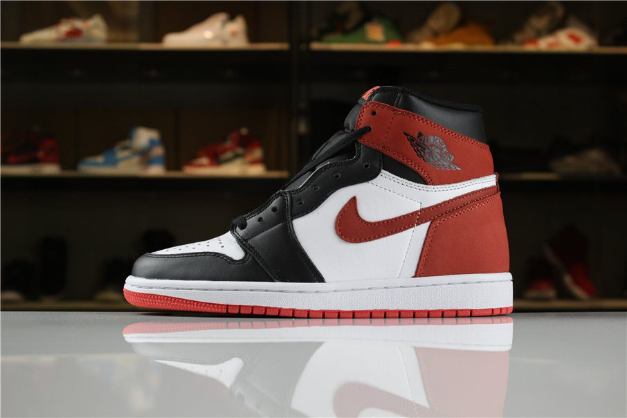 Air Jordan 1 Retro High OG 6 Rings Summit White/Black-Track Red 555088-112