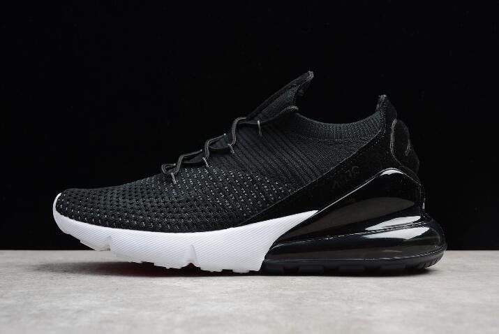Nike Air Max 270 Flyknit White/Black AH1023-002 Men's and Women's Size