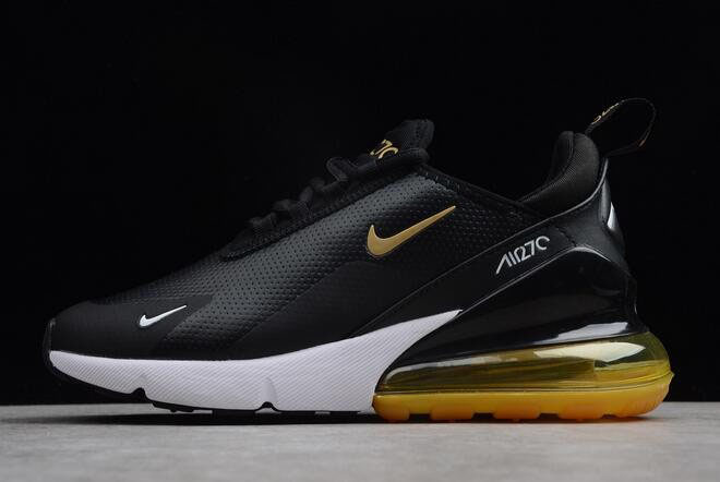 Nike Air Max 270 Premium Black/Yellow-White For Sale