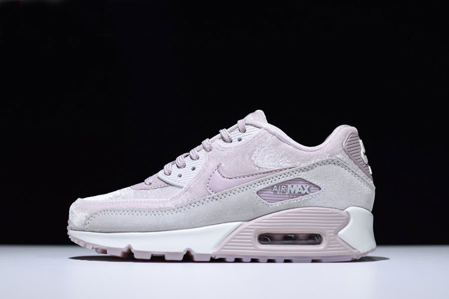 WMNS Nike Air Max 90 LX Particle Rose/Vast Grey/Summit White 898512-600