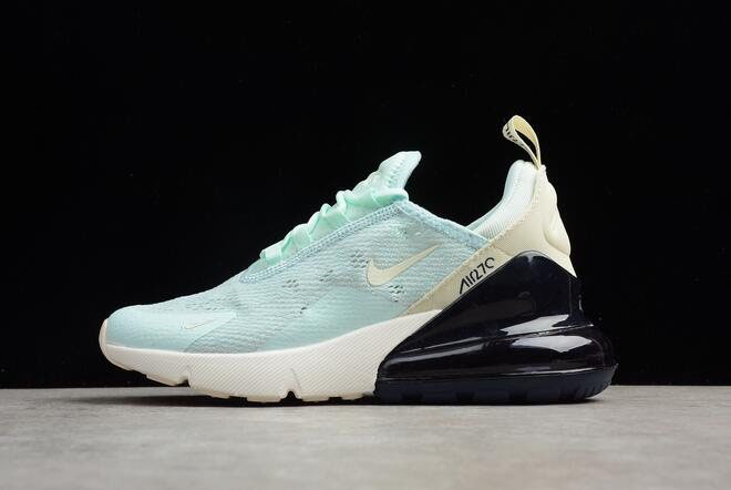 Women's Nike Air Max 270 Mint Green/Black-White Running Shoes AH6789-117