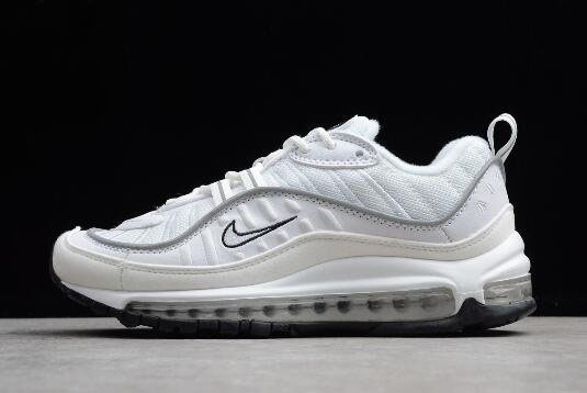 Nike Air Max 98 White/Reflective Silver AH6799-103 For Sale