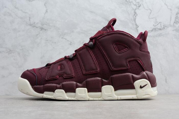 Men's Nike Air More Uptempo Bordeaux Night Maroon/Sail 921949-600