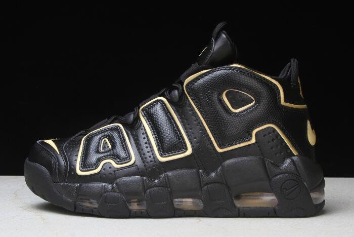 Nike Air More Uptempo France Black/Metallic Gold AV3810-001