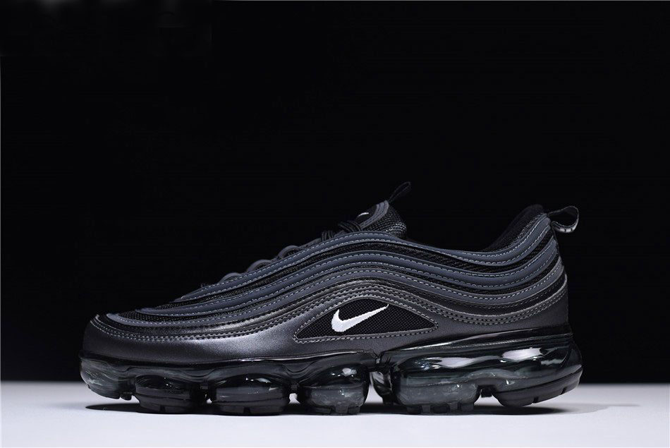 Nike Air VaporMax 97 Black Reflect Triple-Black Running Shoes AO4542-001