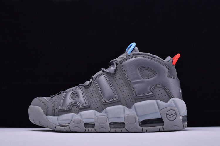 aa0b05be8d0 VILLA x Alexander John x Nike Air More Uptempo Grey Blue Red Men s and