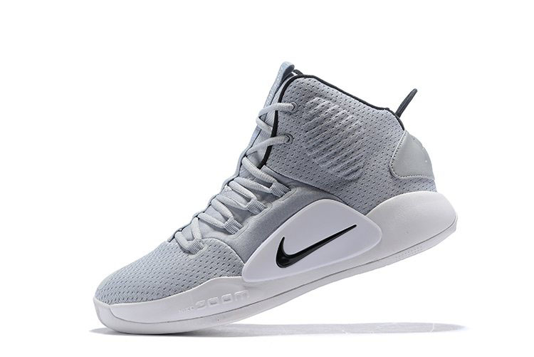 2018 Nike Hyperdunk X Grey/White AR0467-002 On Sale
