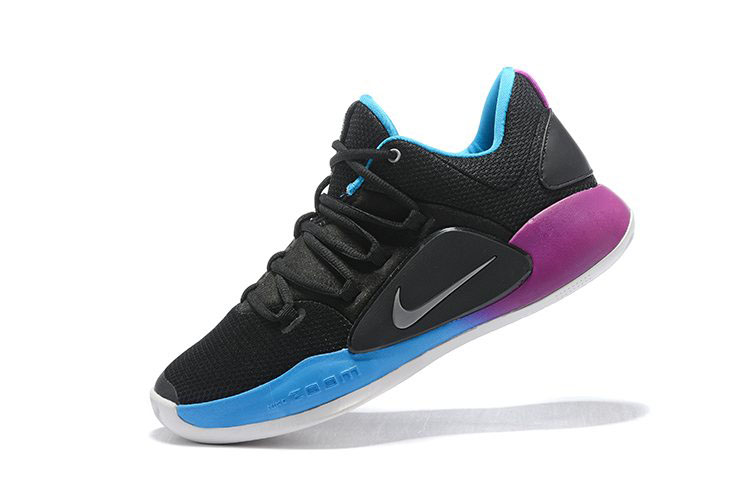 Nike Hyperdunk X Low EP 2018 Black/Purple-Blue Men's Basketball Shoes