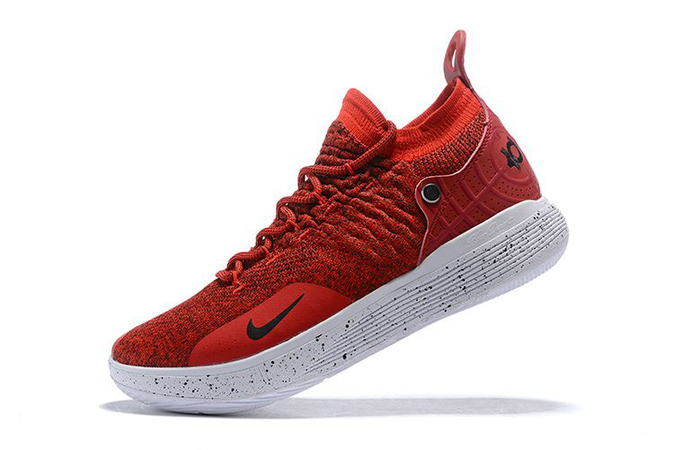 Nike KD 11 Gym Red/White-Black Men's Basketball Shoes