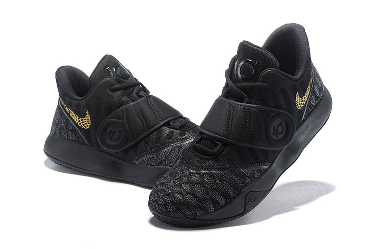 Nike KD Trey 5 VI Black Gold Men's Basketball Shoes