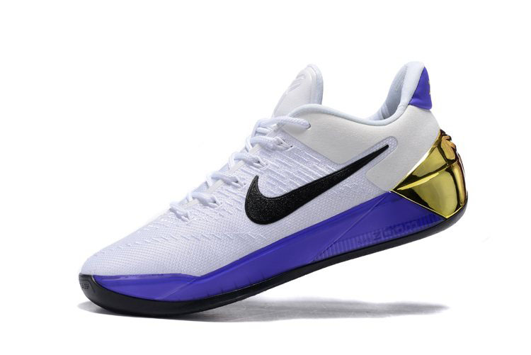 Nike Kobe A.D. 81 Points White/Purple-Black-Metallic Gold Free Shipping