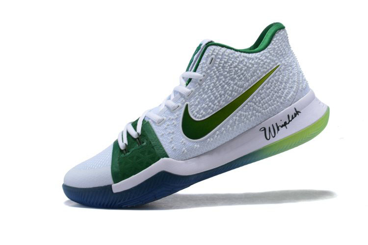 release date fe909 27d7f Men s Nike Kyrie 3 Boston Celtics PE Kyrie Irving Basketball Shoes