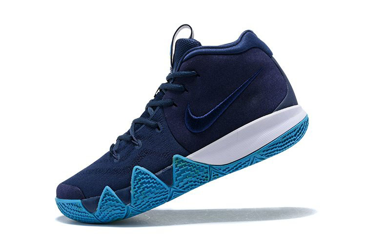 Nike Kyrie 4 Obsidian Dark Obsidian/Black Basketball Shoes 943806-401