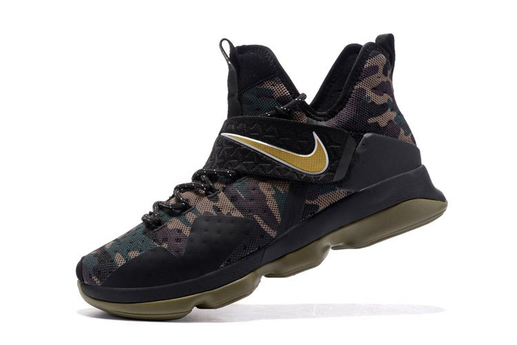 Nike LeBron 14 Camo Men's Basketball Shoes On Sale