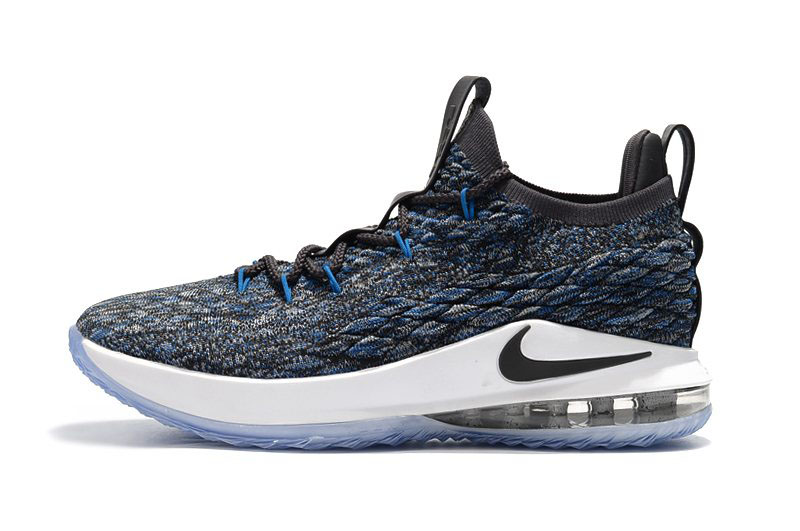 Nike LeBron 15 Low Signal Blue/Thunder Grey-Black AO1756-400