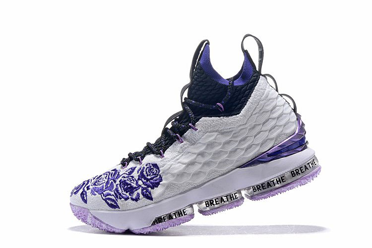 Nike LeBron 15 Purple Rain PE For Sale