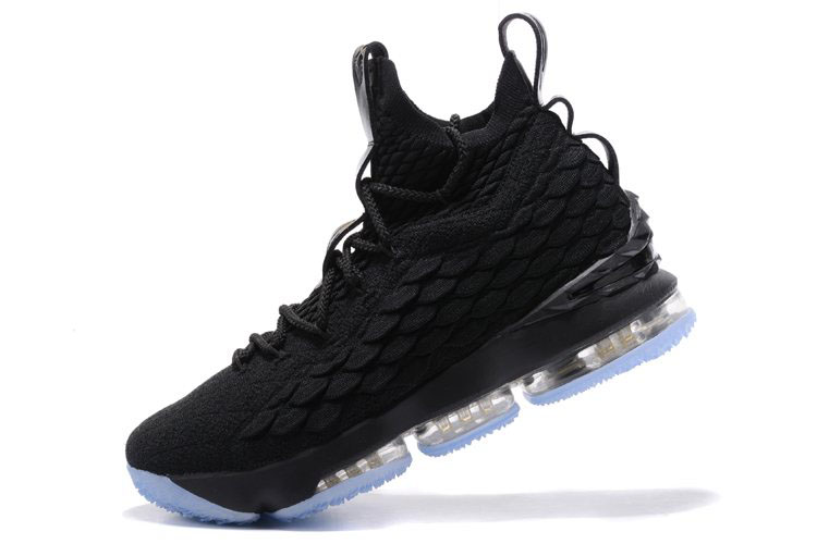Nike LeBron 15 Triple Black Men's Basketball Shoes