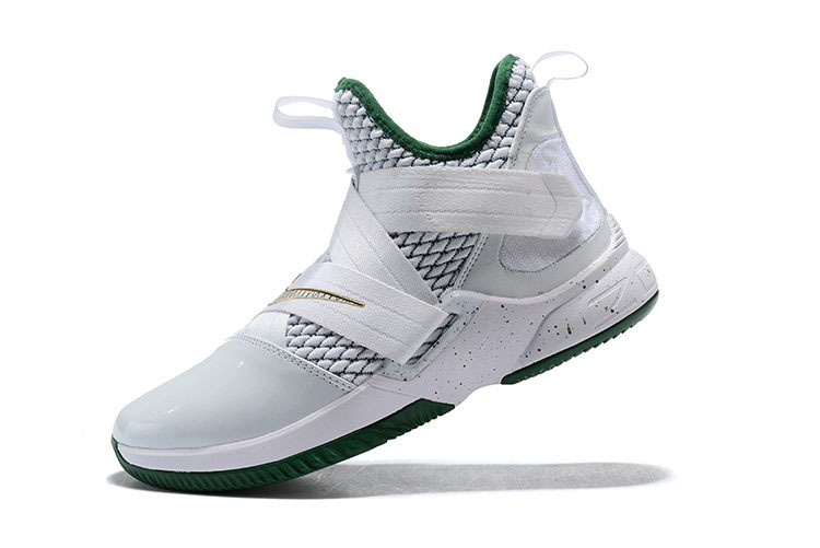 Men's Nike LeBron Soldier 12 SVSM Home White/Multi-Color AO2609-100
