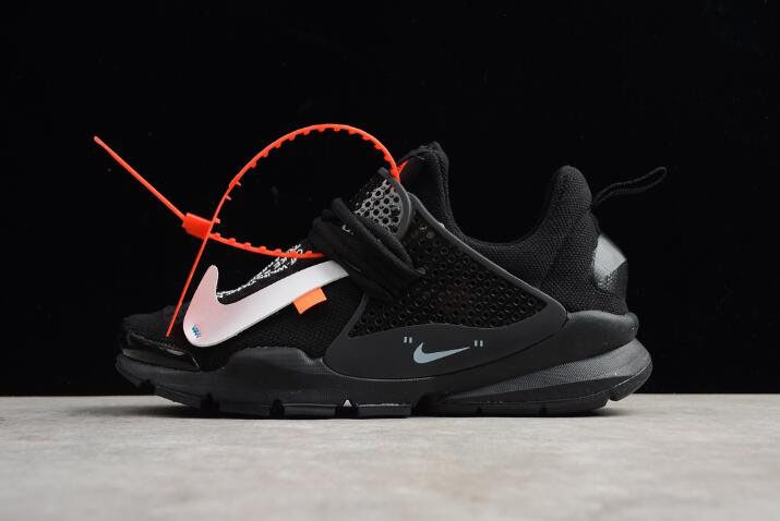 Virgil Abloh Off-White x Nike Sock Dart In Black 819686-059