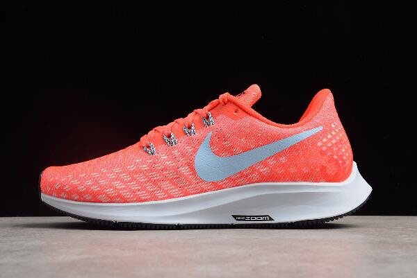 WMNS Nike Air Zoom Pegasus 35 Bright Crimson/Ice Blue-Sail 942855-600 Running Shoes