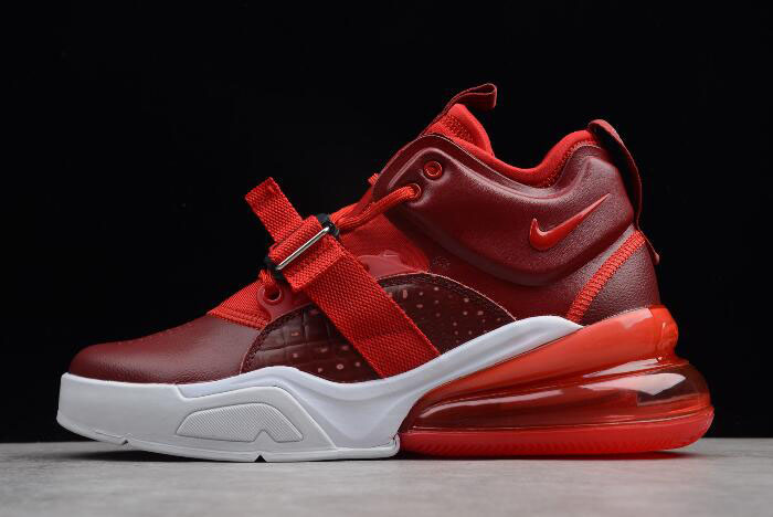 "Nike Air Force 270 ""Red Croc"" Team Red/Gym Red/White AH6772-600"