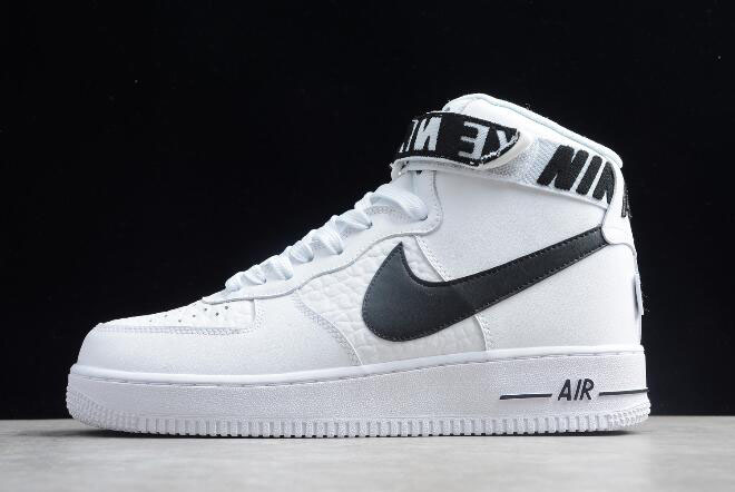"Nike Air Force 1 High '07 ""NBA"" White/Black 315121-103"