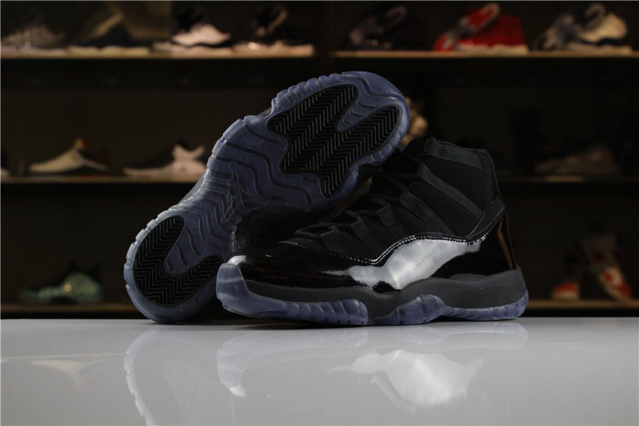 Women's Air Jordan 11 XI GS Cap and Gown All-Black Colorway