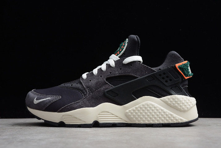 Nike Air Huarache Run Premium Olive Grey/Sail-Rainforest-White 704830-105