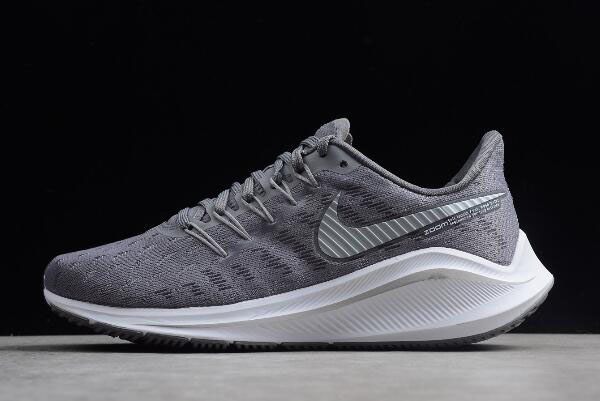 Womens Nike Air Zoom Vomero 14 Wolf Ash/Dark Grey/White/Black AH7858-001