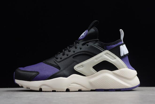 Nike Air Huarache Run Ultra Black/Purple-White 3875842-302