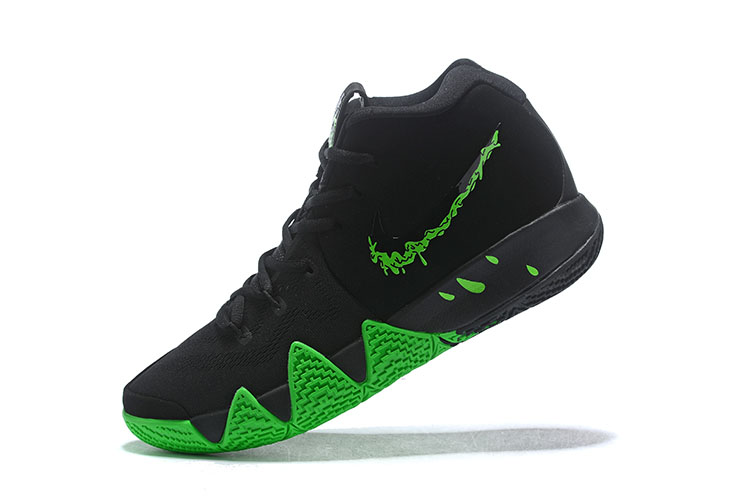 "Nike Kyrie 4 ""Halloween"" Black/Rage Green 943806-012"