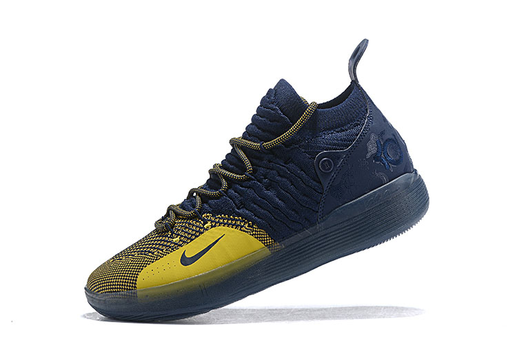 "Nike KD 11 ""Michigan"" College Navy/University Gold AO2604-400"