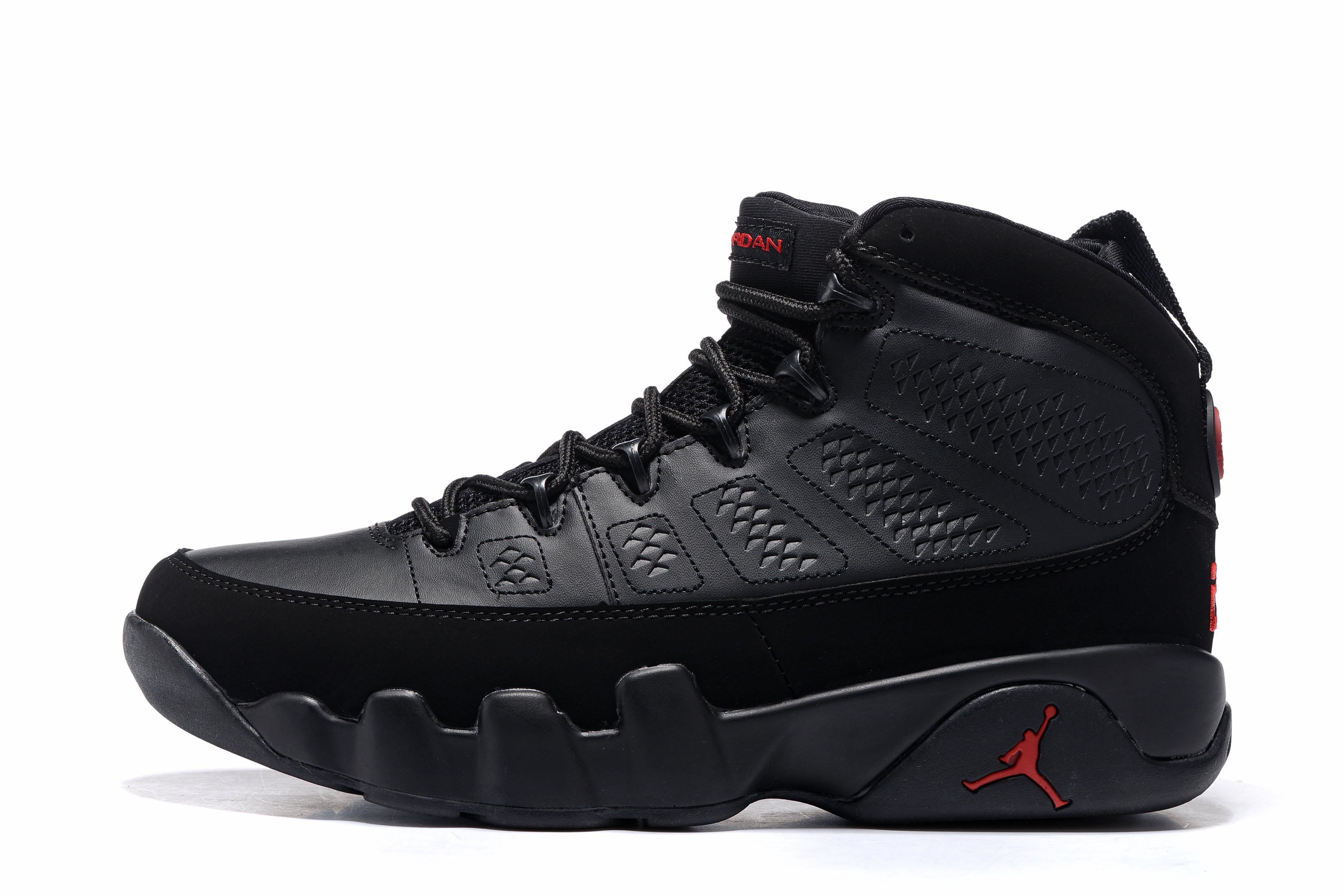 Air Jordan 9 Bred Black/Anthracite-University Red 302370-014