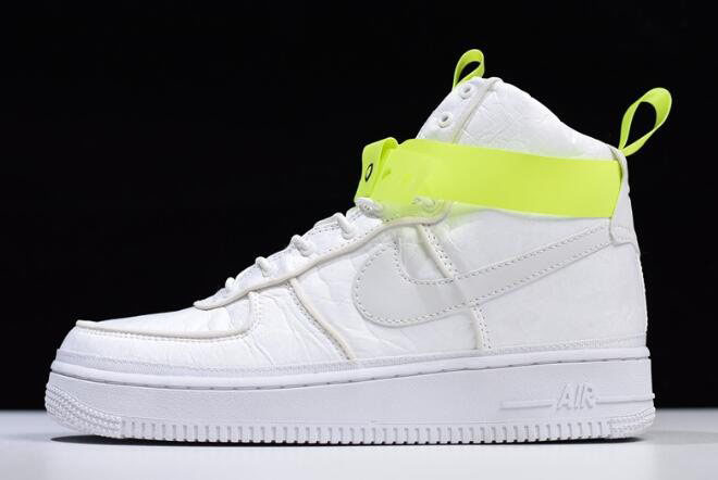 Magic Stick x Nike Air Force 1 High VIP White/Volt-Black 573967-101