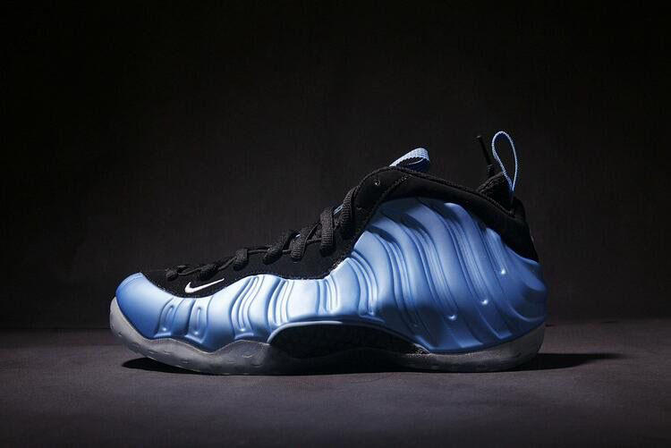 Nike Air Foamposite One University Blue/White-Black Basketball Shoes 314996-402